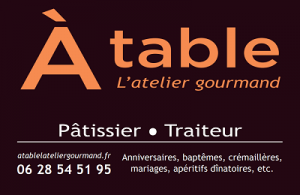 A table l'atelier gourmand