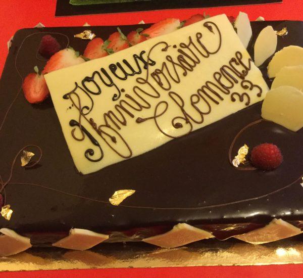 Gâteau d'anniversaire A table l'atelier gourmand