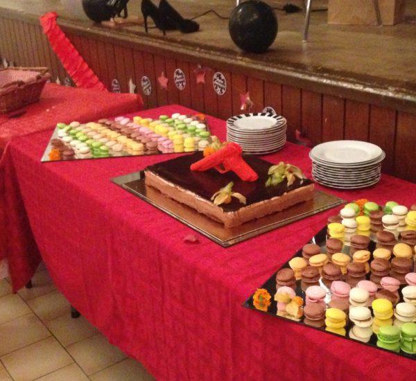 Buffet de dessert A table l'atelier gourmand